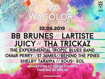 Le Wacolor Festival dévoile sa programmation !
