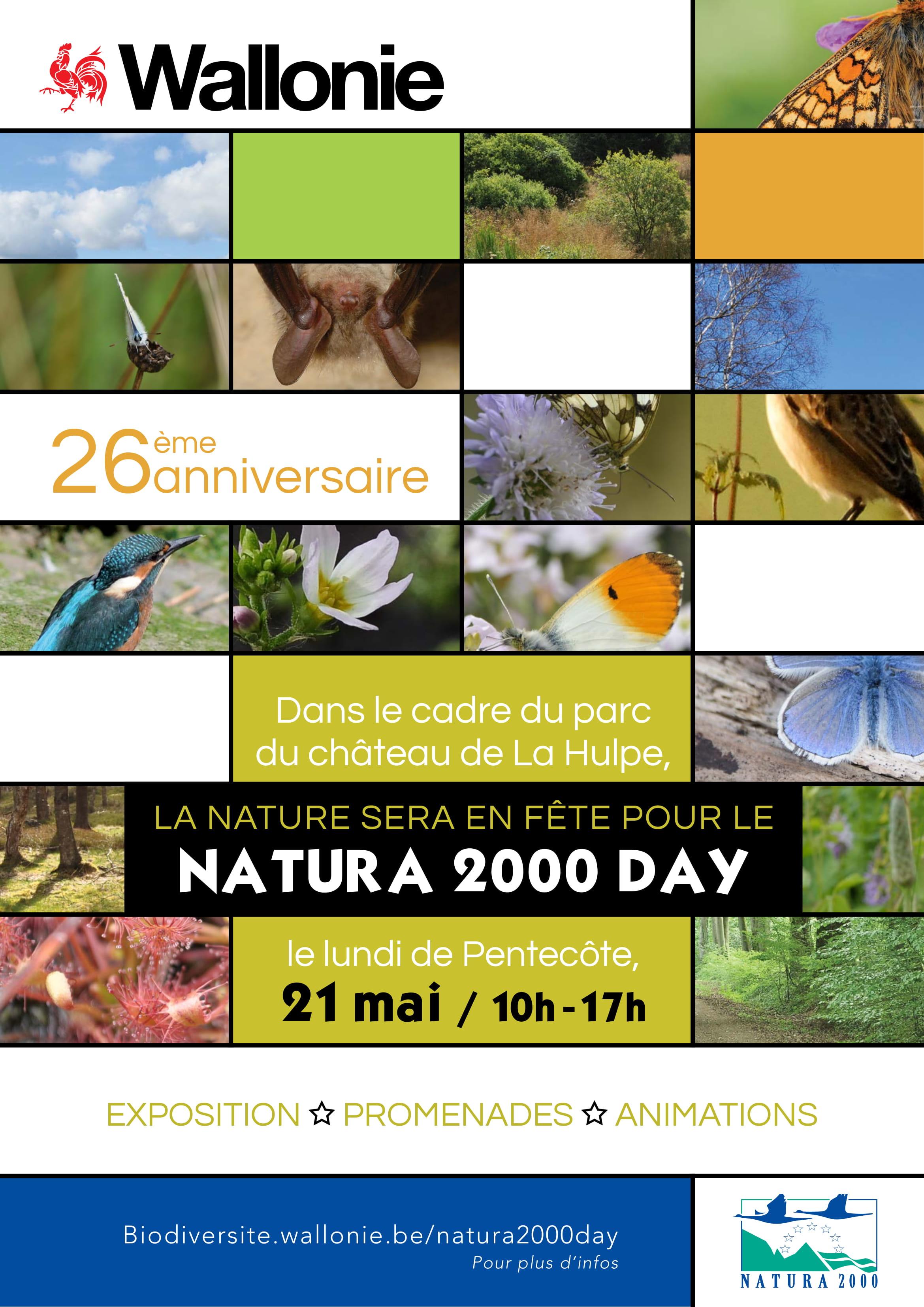 Natura 2000 fête son 26e anniversaire !