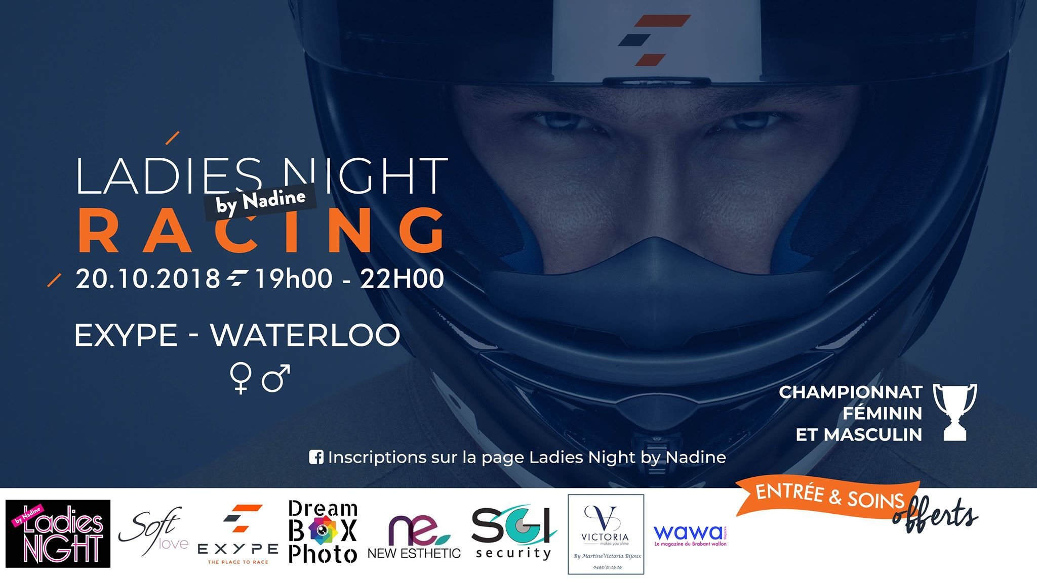 LADIES RACING NIGHT BY NADINE (Video)