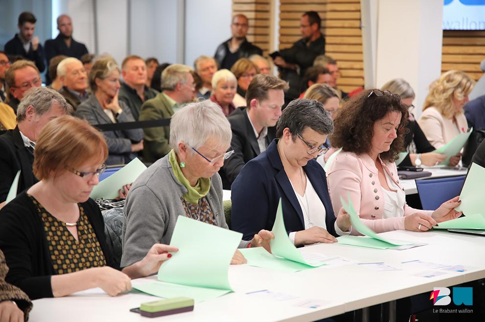 Résultats des élection pour la Province du Brabant wallon !