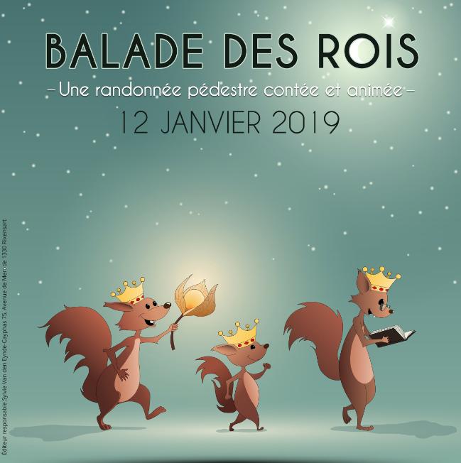Balade des rois - samedi 12 janvier 2019, promenons-nous à Rixensart