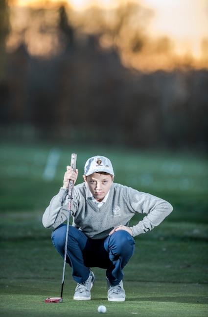 Enfant surdoué de la balle alvéolée : Hugo Duquaine
