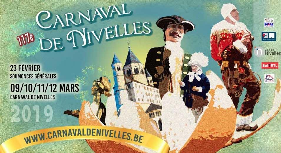 117ème Carnaval de Nivelles (+ vidéo)