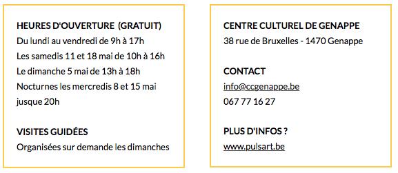 PLAY DÉBARQUE AU CENTRE CULTUREL DE GENAPPE