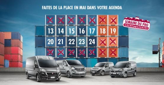 FJA Automobile, Le spécialiste Fiat en Brabant wallon : Semaine du PRO