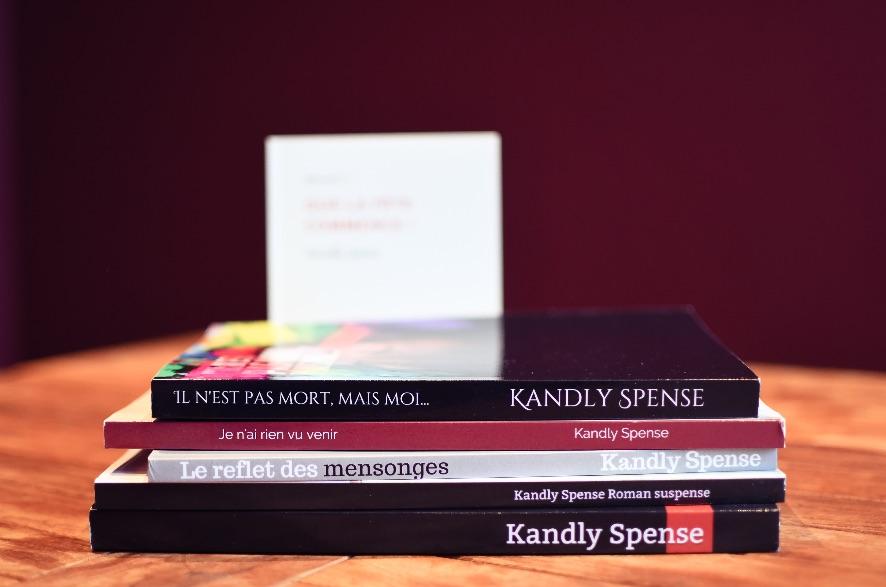 Brabant wallon : Connaissez-vous la romancière et novelliste Kandly Spense ?