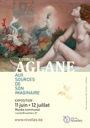 Nivelles : Georges AGLANE - Aux sources de son imaginaire