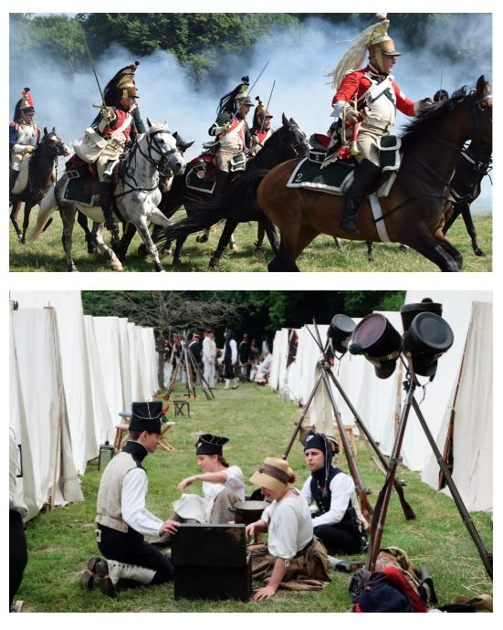 Bivouacs & Reconstitution de la Bataille de Waterloo 2019