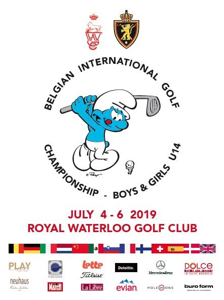 8ième édition du Belgian International Golf Championship Boys & Girls U14, du 3 au 6 juillet prochains : ça va schtroumpfement swinguer à Waterloo !