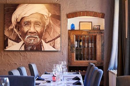 Je rencontre Michel Vanden Broucke, le patron du restaurant '32 Chemin de l'herbe' à Chaumont en Brabant wallon.