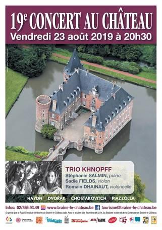 Concert au château de Braine-le-Château, le vendredi 23 août 2019 à 20h30