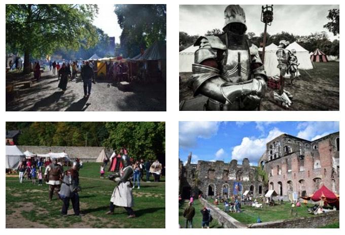 Le WE du 14 & 15 septembre, c'est la fête médiévale !