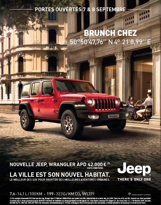 Week-end portes ouvertes du 7 & 8 septembre chez FJA automobiles Wavre & Nivelles.