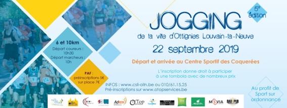 Jogging de la ville d'Ottignies-Louvain-la-Neuve