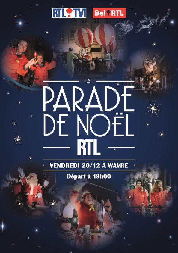 Parade de Noël RTL 2019 à Wavre