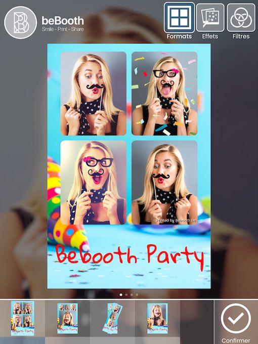 Bebooth, le photobooth pour événements privés et professionnels.