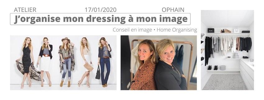 Atelier pratique pour REVELER votre STYLE et ORGANISEZ votre dressing à votre image!