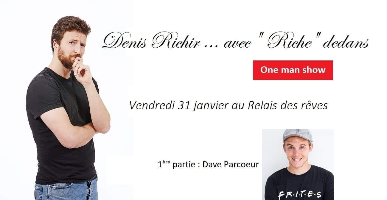 4ème Comedy Club De Grez Doiceau Au Relais Des Rêves |Denis Richir