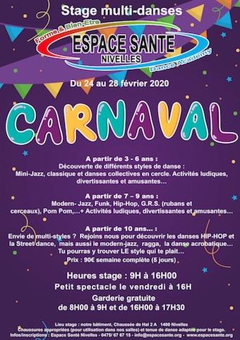 Espace Santé Nivelles : Stages multi-danses