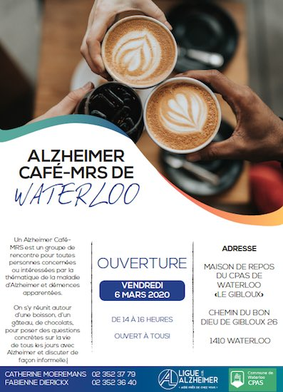Waterloo : Un tout nouvel Alzheimer Café
