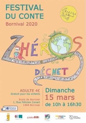 ANNULE ! ! ! Festival du Conte de Bornival 2020
