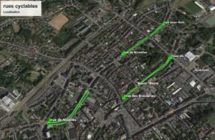 Une zone 30km/h en centre-ville et plus de place pour les vélos à Wavre!