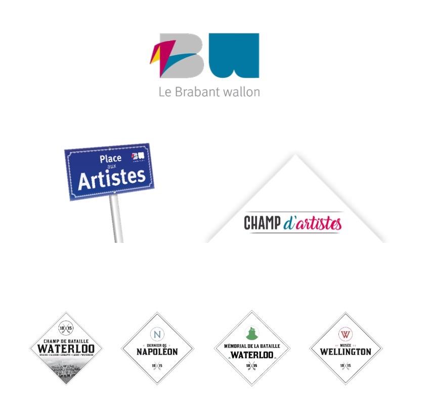 Découvrez les champ d'artistes en Brabant Wallon cet été!