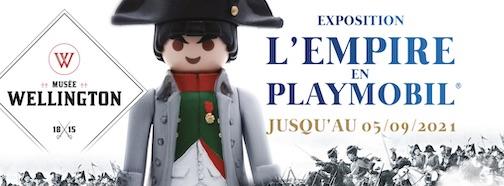 L'Empire en Playmobil | Exposition Wellington Waterloo Playmobil