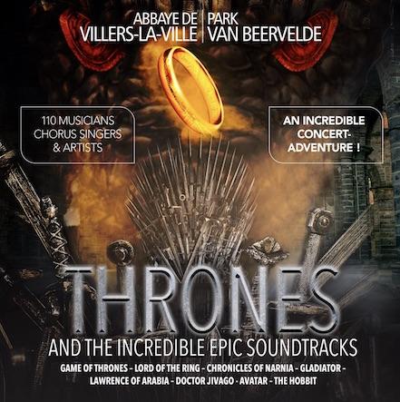 Thrones  « VILLERS SYMPHONIQUE »