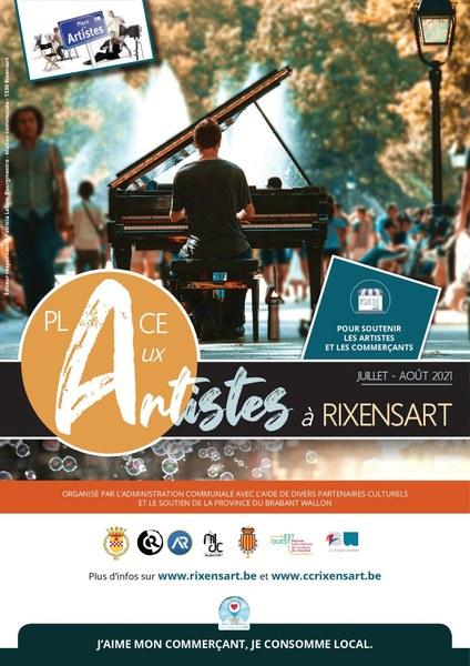 Rixensart : Place aux Artistes - Août 2021