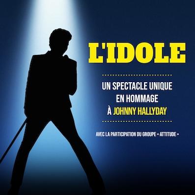 Wavre | L'IDOLE – Un spectacle unique en hommage à Johnny Hallyday à la Sucrerie