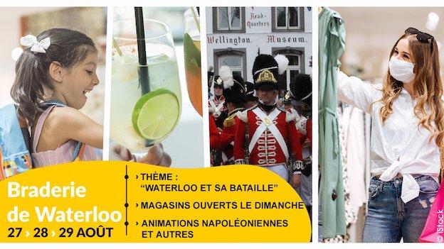 Waterloo : Braderie du Centre et des Galeries 2021