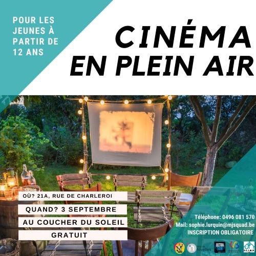 Nivelles   Cinéma en plein air