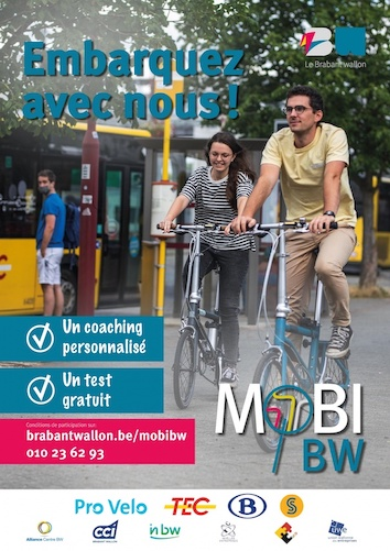 Brabant wallon   MobiBW   Réinventez votre mobilité