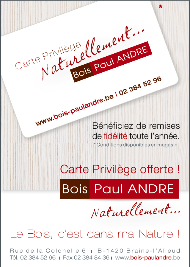 BOIS PAUL ANDRE... Naturellement.