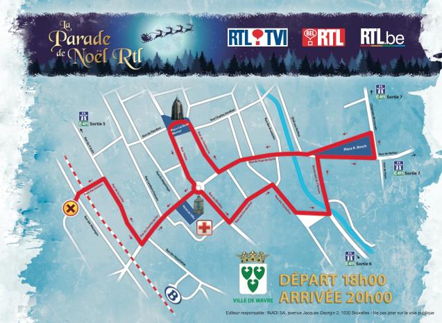 WAVRE : Toutes les infos sur la Parade de Noël 2013!