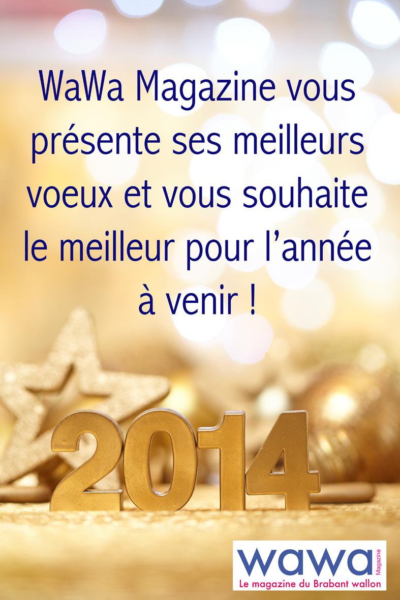 WaWa Magazine vous souhaite une excellente année 2014 !