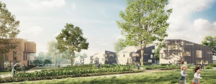 I-Dyle : un futur éco-quartier avant-gardiste sur le site de l'ancienne sucrerie de Genappe