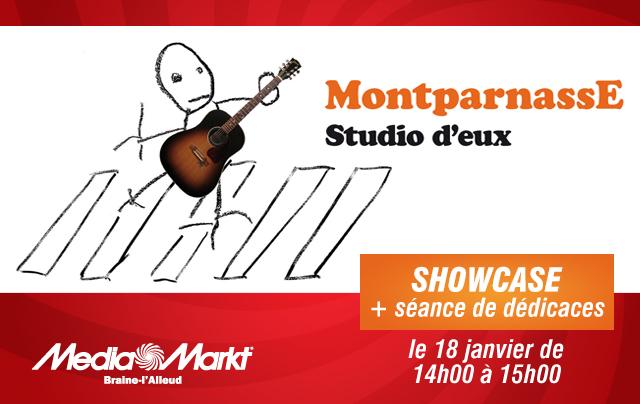Media Markt : Showcase de MontparnassE (+ vidéo)