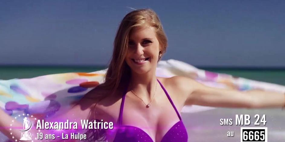 Alexandra Watrice représentera le Brabant wallon à l'élection de Miss Belgique ce 11 janvier !
