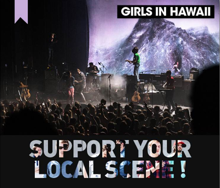 Girls in Hawaii part en tournée !