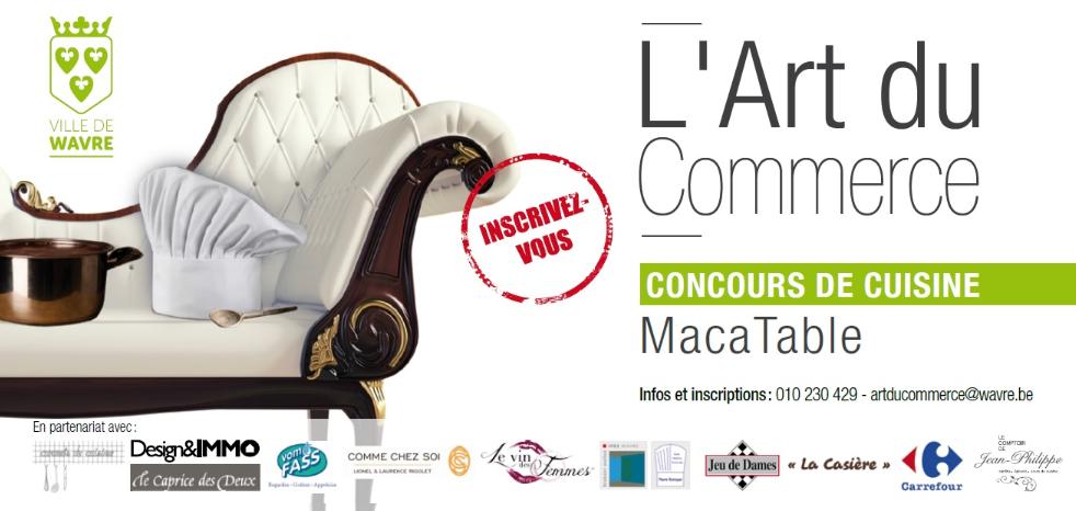 La Ville de Wavre organise un concours de cuisine