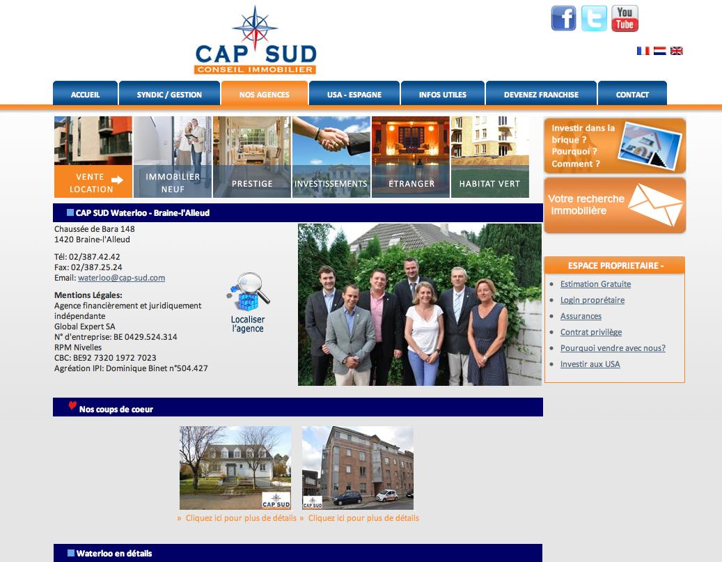CAP SUD Waterloo - Braine-l'Alleud