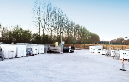 Récupération d'objets réutilisables dans trois de nos parcs à conteneurs en Brabant wallon