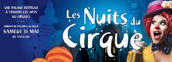 Abbaye de Villers-la-Ville : Les Nuits du Cirque (Offre spéciale -10€ !)