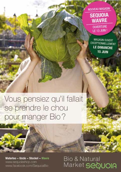 Bio & Natural Market SEQUOIA ! Un géant dans le monde du bio ! (Wavre et Waterloo)