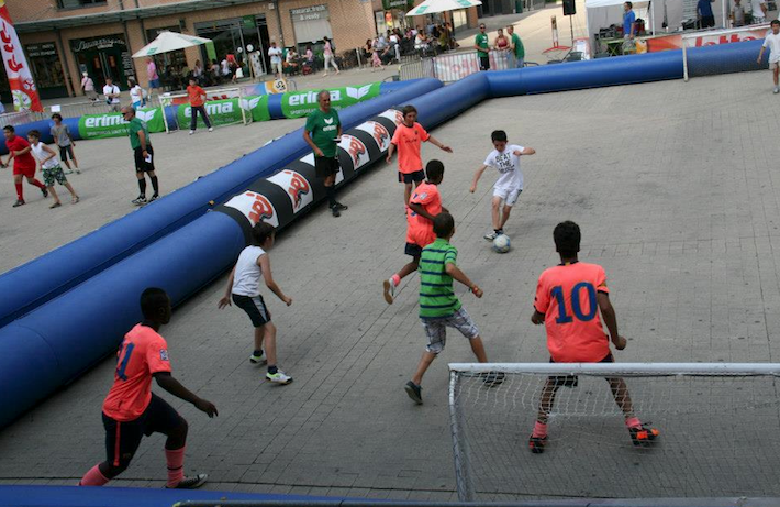 Lotto Street Soccer à Wavre