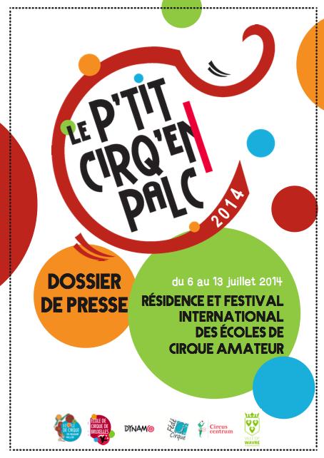 Le P'tit Cirq'en Palc 2014