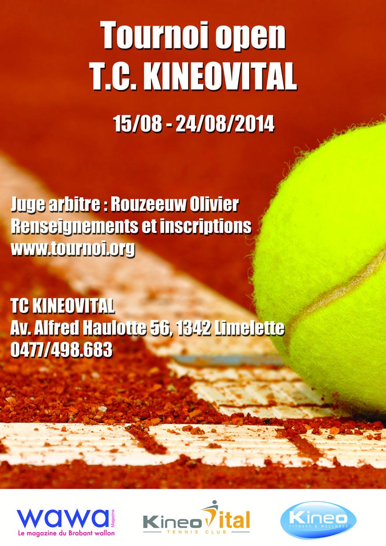 Tournoi Open T.C. KineoVital