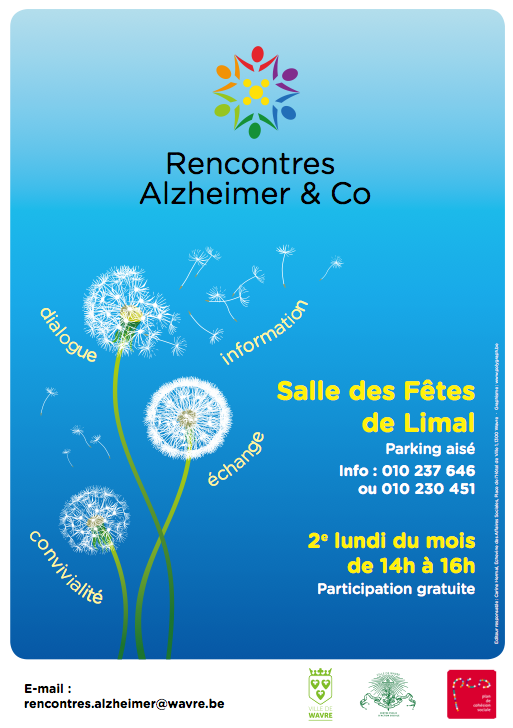 Wavre : Rencontres Alzheimer & Co